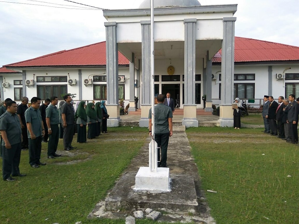 MS Meulaboh Melaksanakan Upacara Hari Kesaktian Pancasila Tahun 2017