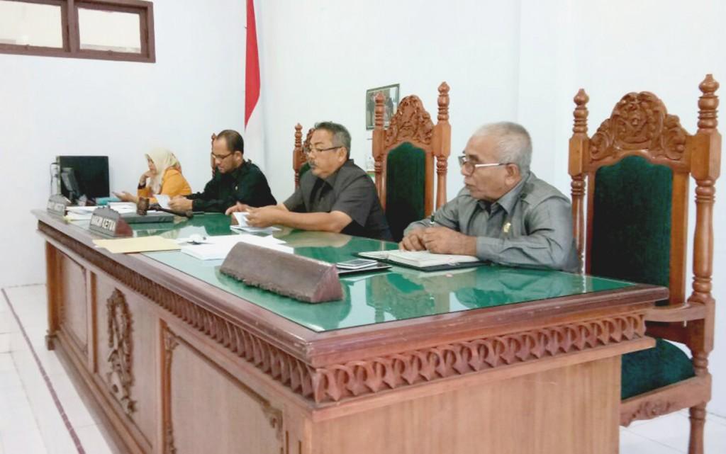 Rapat  Sosialisasi Tentang Pengarahan Ketua Mahkamah Agung RI pada hari  Selasa, tanggal 23 Januari 2018