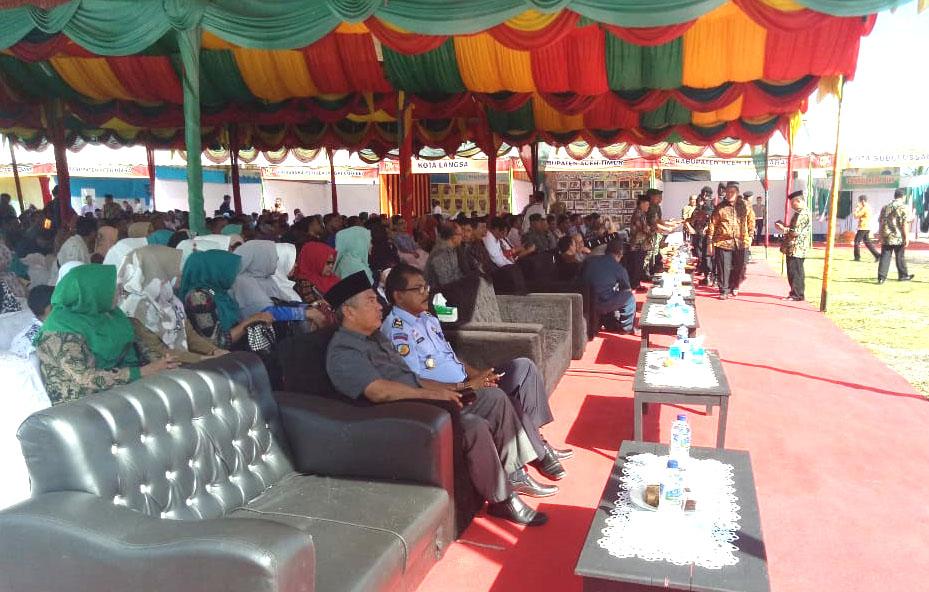 Peringatan Hari Ulang Tahun (HUT) ke-71 Koperasi Tingkat Provinsi Aceh di Meulaboh