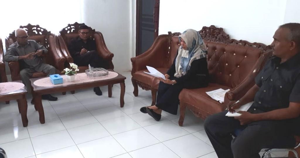 Mahkamah Syar'iyah Meulaboh Melaksanakan Rapat Tentang Perencanaan anggaran Jinayat   dengan dibelakukan Peraturan Gubernur Aceh Nomor 5 Tahun 2018