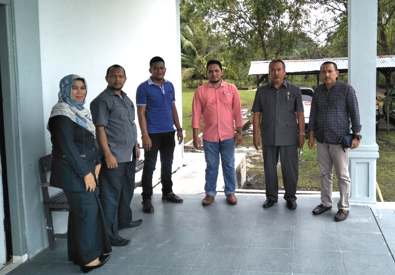 Kunjungan Sekretaris Mahkamah Syar'iyah Aceh Ke Mahkamah Syar'iyah Meulaboh