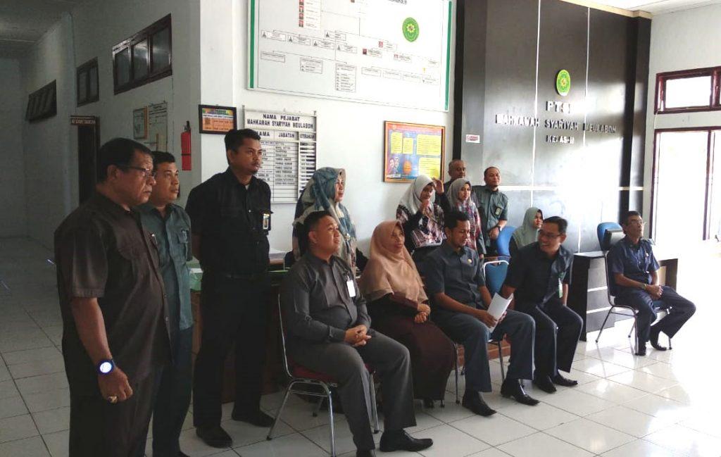 MS Meulaboh Turut Serta Menyaksikan Acara Peresmian Pengadilan Baru Melalui Live Streaming