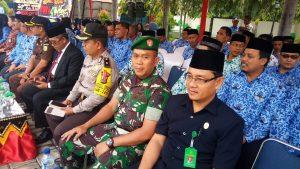 Upacara Peringatan Hari Ulang Tahun ( HUT ) Korpri  Ke-47 Dihadiri  oleh Wakil Ketua MS Meulaboh