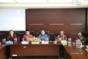 Gelar Rakor dengan Ketua Kamar Agama MA, Dirjen Badilag Sampaikan Program Prioritas