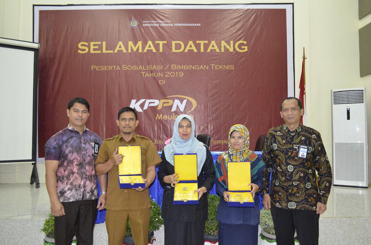 MS Meulaboh Raih Penghargaan dari KPPN Meulaboh