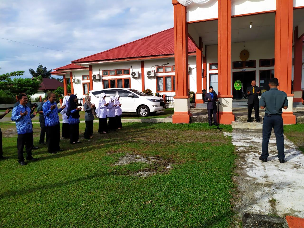 UPACARA BENDERA MEMPERINGATI HUT REPUBLIK INDONESIA KE – 74