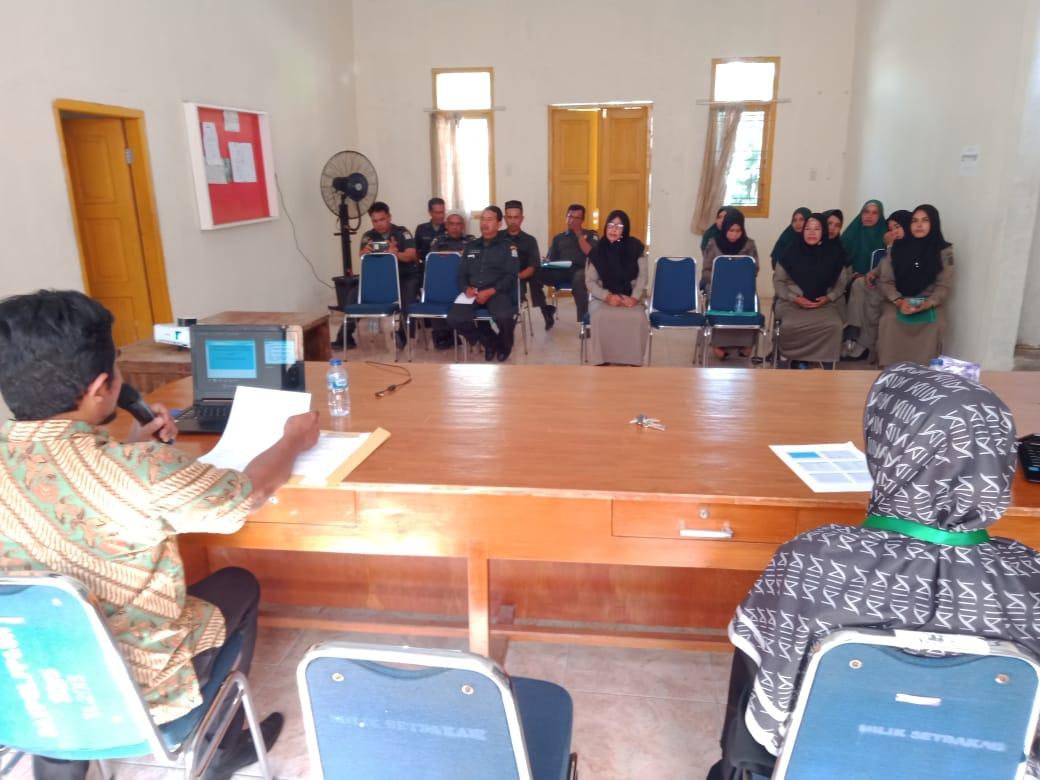 Bimbingan Teknis Pemberkasan Perkara Tahun 2019 di Aceh Barat