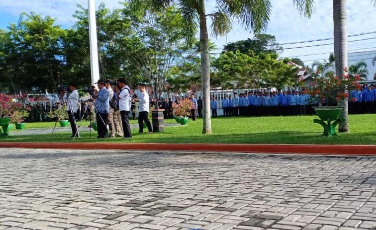 KMS Meulaboh Hadiri Upacara Hari Kesadaran Nasional