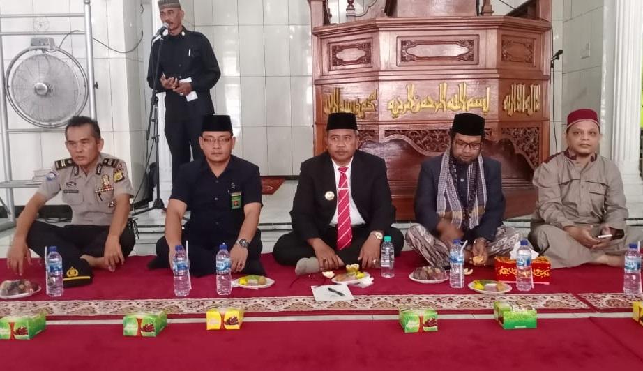 KMS Meulaboh Hadiri Peringatan Maulid di Mesjid Nurul Huda