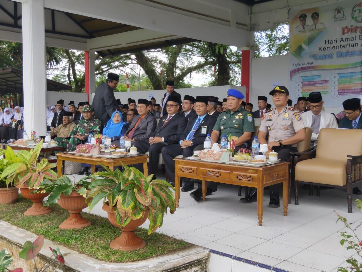 Upacara Peringatan Hari Amal Bakti  Kementerian Agama Ke-74  Tahun 2020