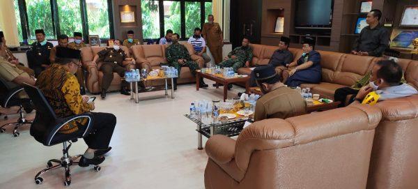 Rapat Forkopimda Dan Bhakti Sosial Aceh Barat