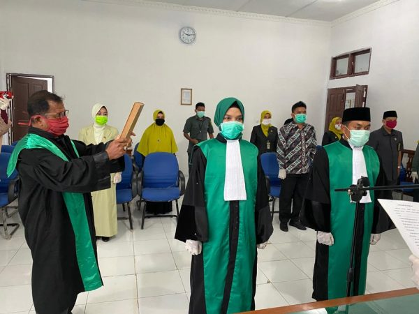 Pengambilan Sumpah dan Pelantikan Jabatan Hakim MS Meulaboh