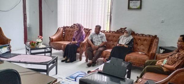 MS Meulaboh Mengikuti Pembinaan dari Hakim Agung Melalui Virtual Meeting