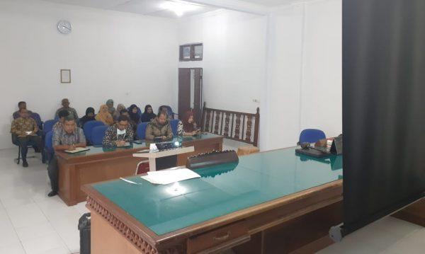 MS Meulaboh Mengikuti Pembinaan Dari Ketua MS Aceh Melalui Virtual Meeting