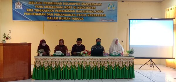 Pembinaan Masyarakat Yang Berkaitan KDRT Di Aceh Barat, Ketua MS Meulaboh Narasumber