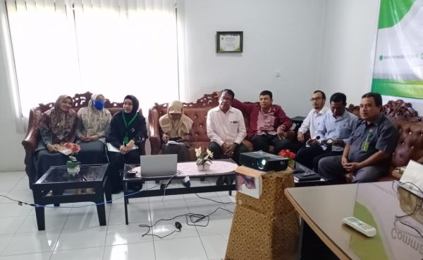 Pembinaan Dan Pengawasan Bidang Kepaniteraan Melalui Virtual Meeting