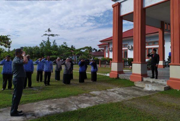 Upacara Bendera Peringatan HUT Republik Indonesia Ke–75