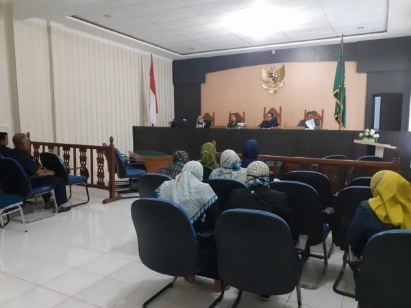 Rapat Evaluasi Apm dan Penyerahan Piagam Serta Tanda Kehormatan Satyalancana Karya Satya Tahun 2020 Di Lingkungan MS Meulaboh